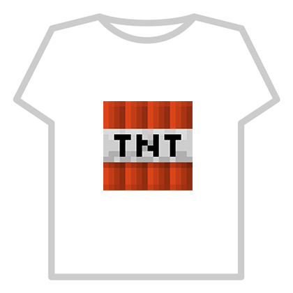 roblox skins minecraft tnt t shirts template